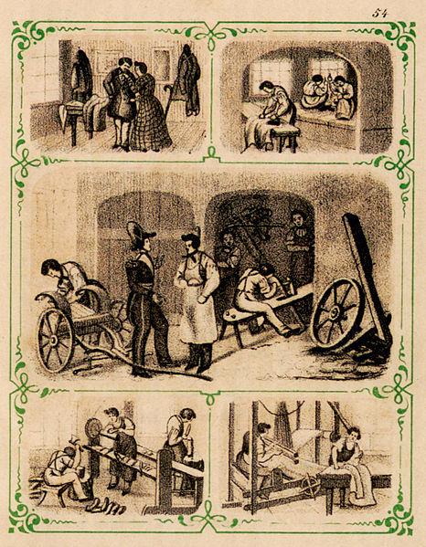 Historie: Berufswahl und Lehrzeit der Handwerker 1876