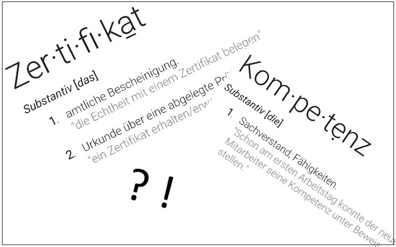 "Ist die Orientierung an Zertifikaten in der Arbeitswelt noch zeitgemäß?<br><img class=""text-align: justify"" src=""https://bildungswissenschaftler.de/wp-content/uploads/2013/07/theorie_120.png""/><img class=""text-align: justify"" src=""https://bildungswissenschaftler.de/wp-content/uploads/2013/07/praxis_120.png""/><img class=""text-align: justify"" src=""https://bildungswissenschaftler.de/wp-content/uploads/2013/07/verweis_120.png""/><img class=""text-align: justify"" src=""https://bildungswissenschaftler.de/wp-content/uploads/2014/08/meinung_120.png""/>"